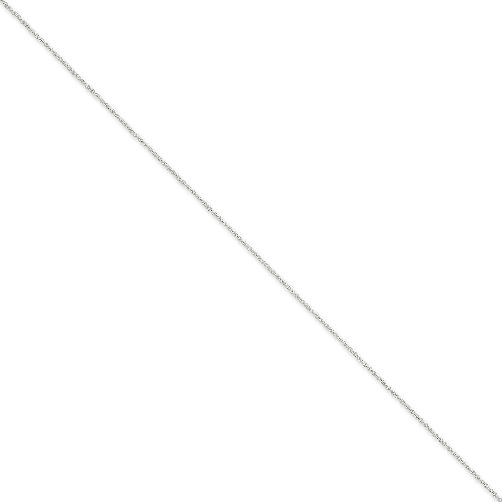 1.1mm Ropa 14k White Gold WRPA020-24