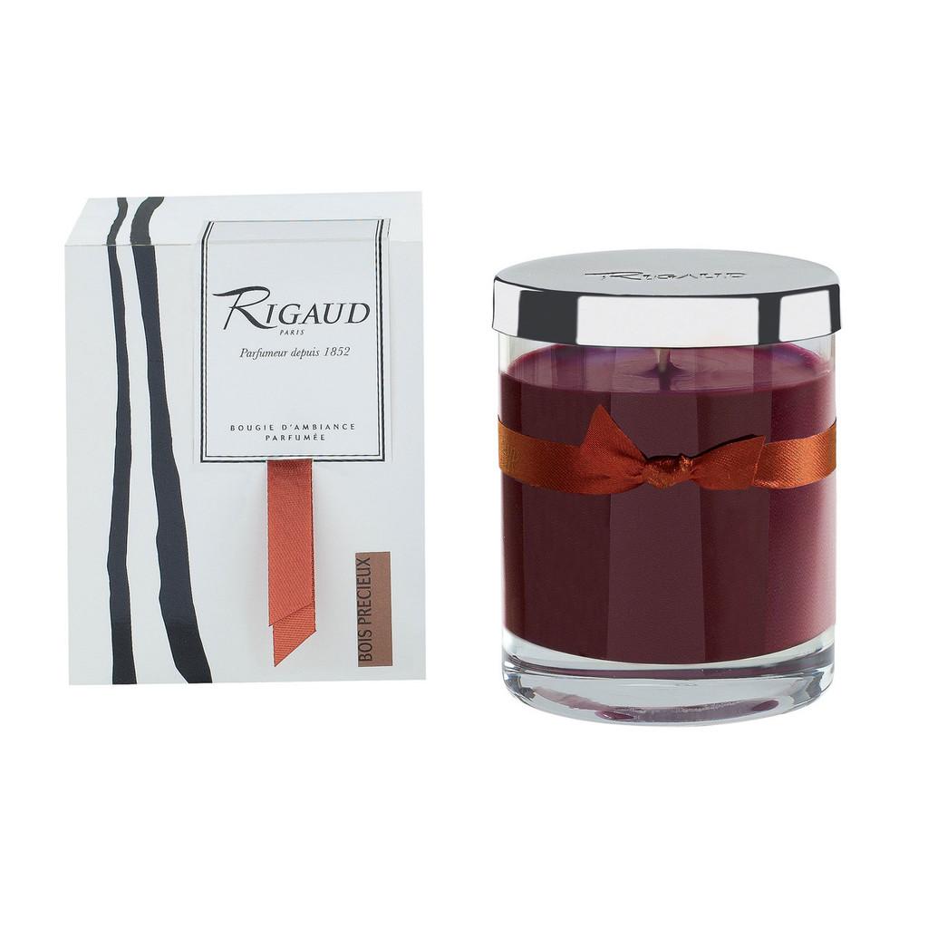 Rigaud Demi Medium Candle Bois Precieux Precious Wood Brown