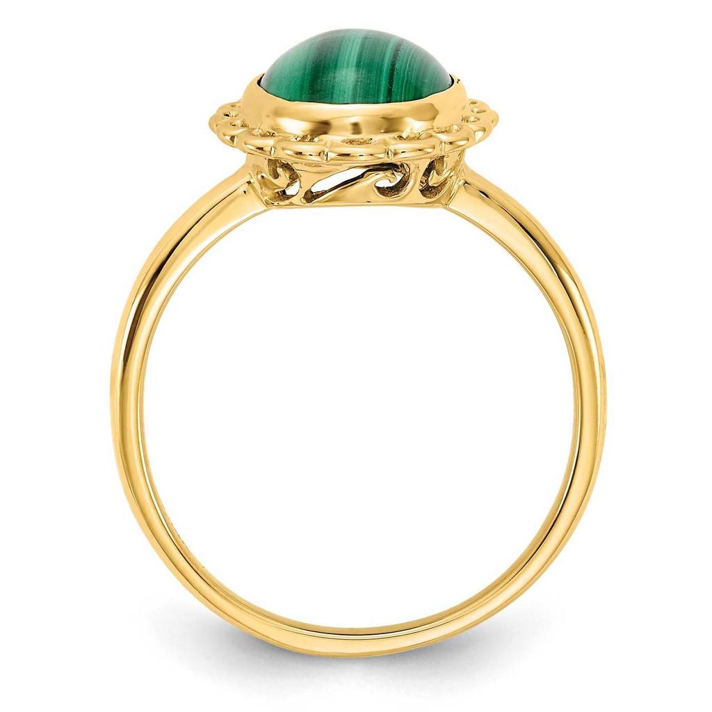 Gemstone Ring Mounting 14k Gold Y4494