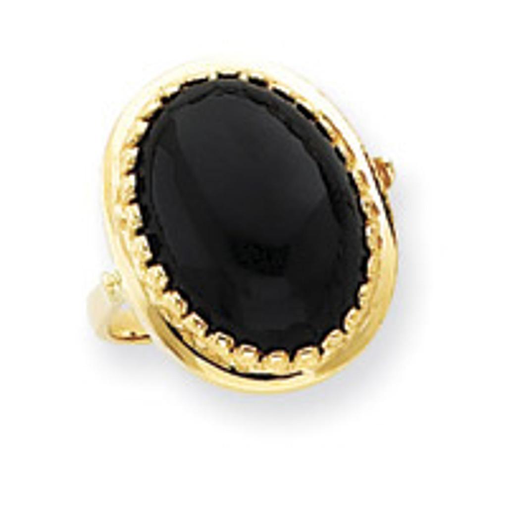 Gemstone Ring Mounting 14k Gold Y4500