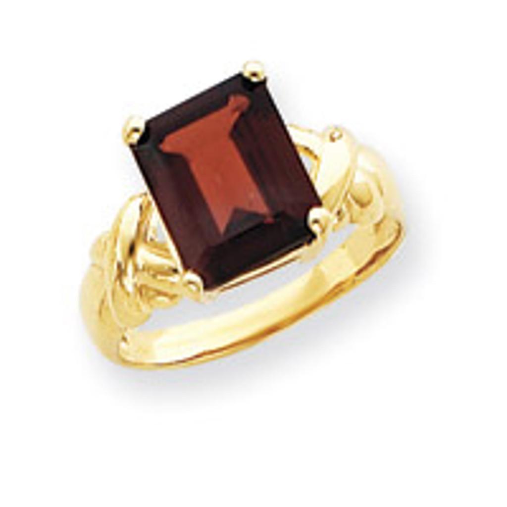 Gemstone Ring Mounting 14k Gold Y4533