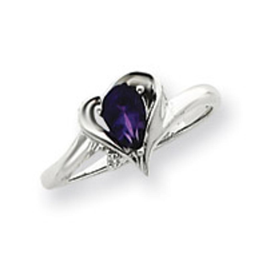 Diamond & Gemstone Ring Mounting 14k White Gold Y4560