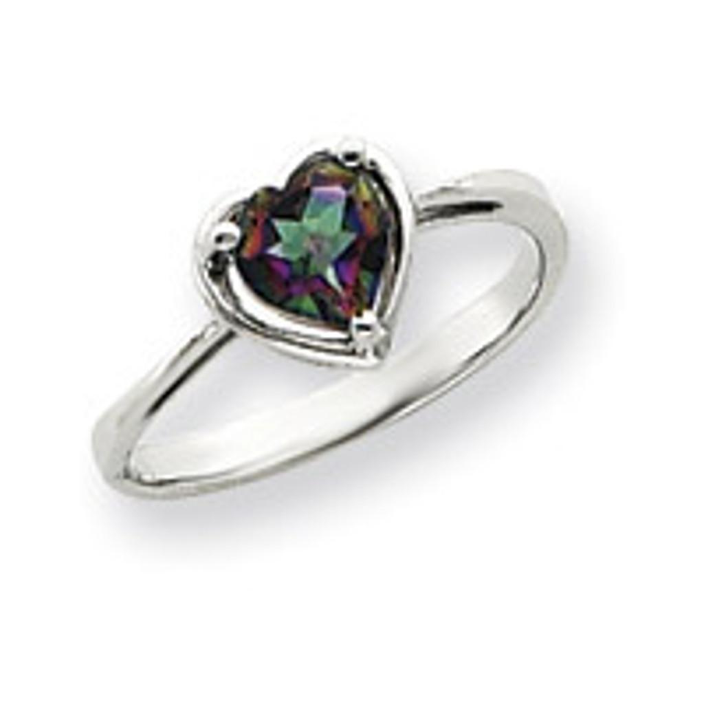 Gemstone Ring Mounting 14k White Gold Y4563