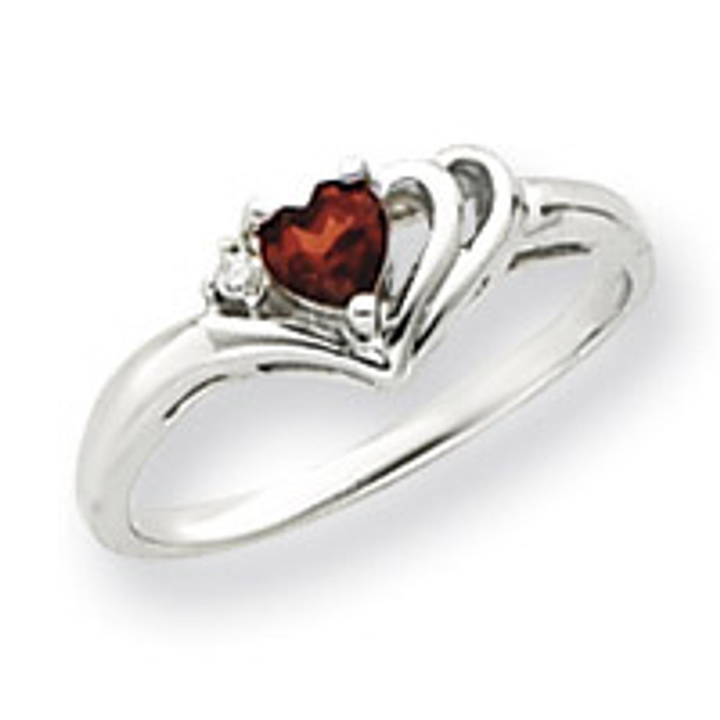 Diamond & Gemstone Ring Mounting 14k White Gold Y4587