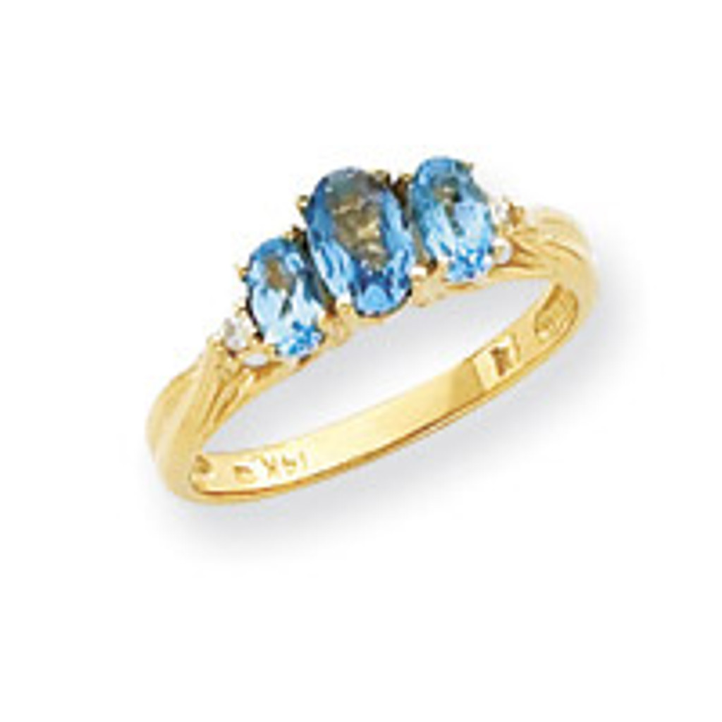 Diamond & Gemstone Ring Mounting 14k Gold Y4613