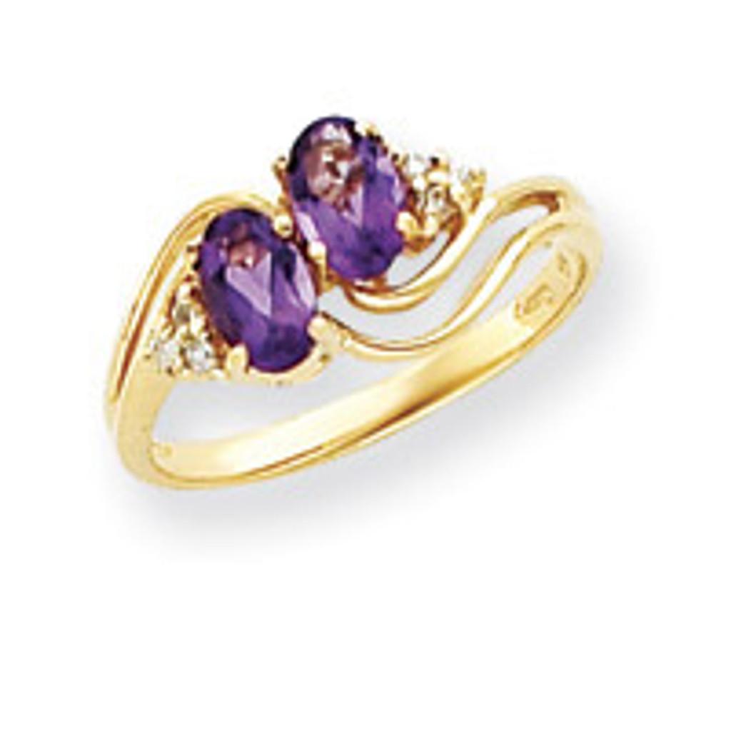 Diamond & Gemstone Ring Mounting 14k Gold Y4617