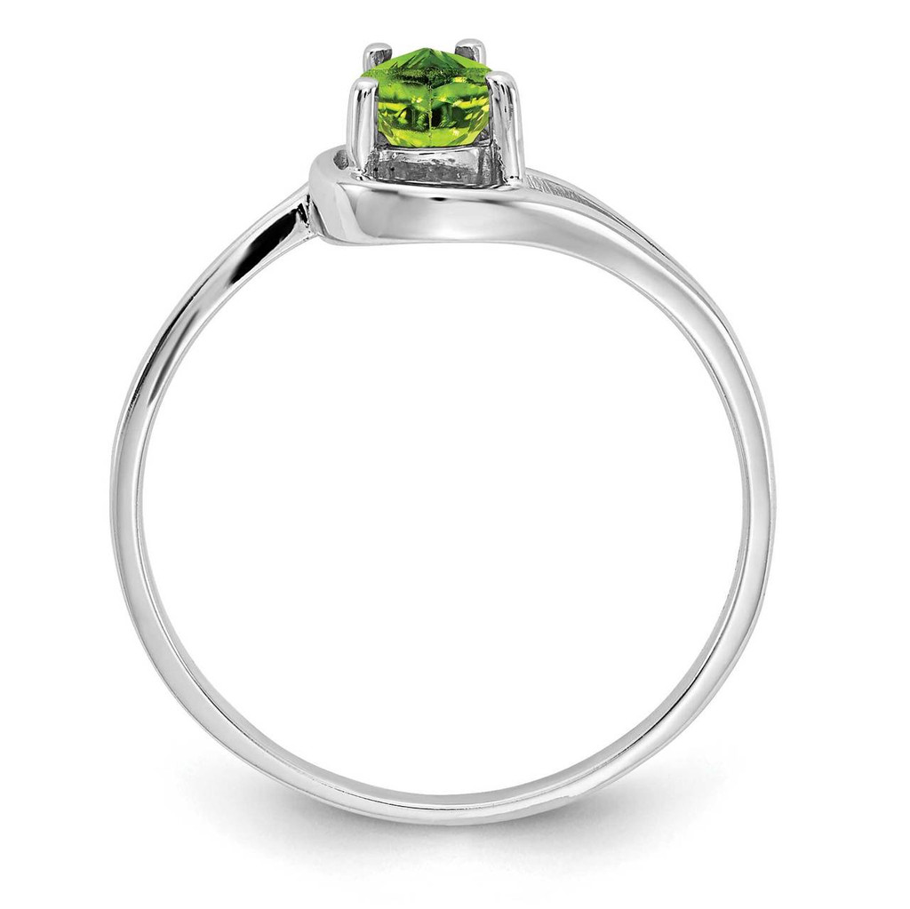 Gemstone Ring Mounting 14k White Gold Y4627