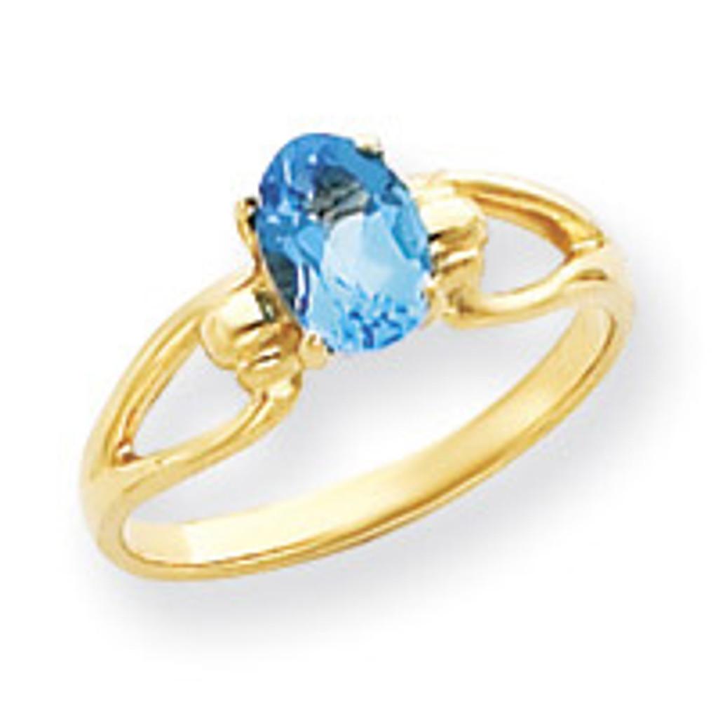 Gemstone Ring Mounting 14k Gold Y4641
