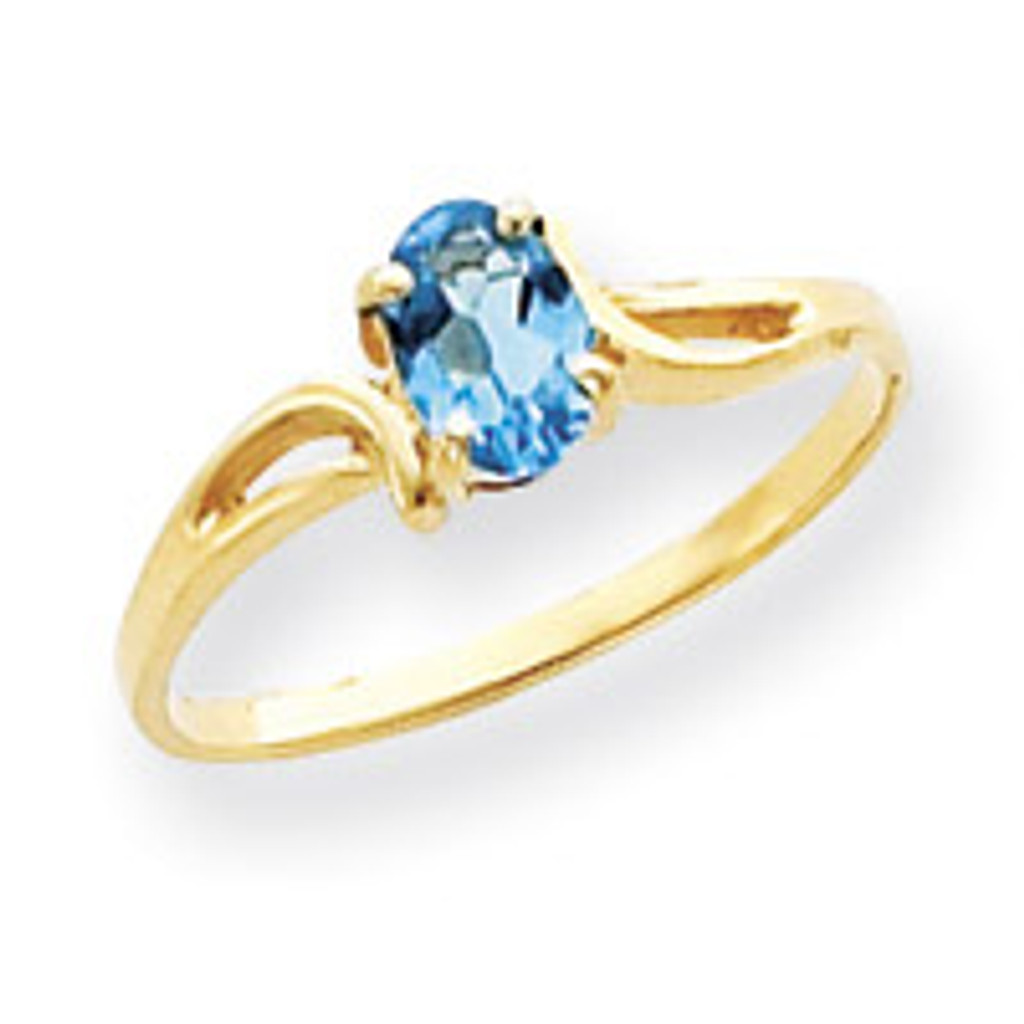 Gemstone Ring Mounting 14k Gold Y4648