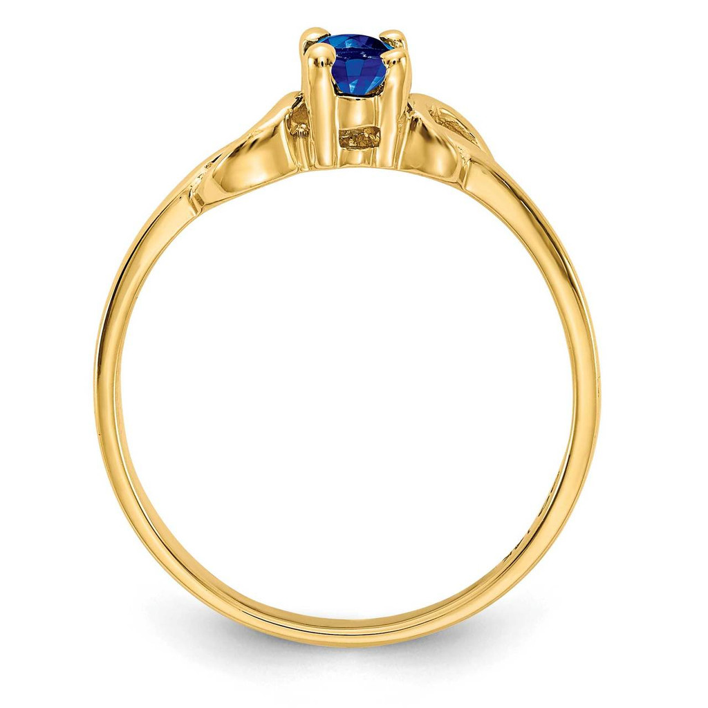 Gemstone Ring Mounting 14k Gold Y4650
