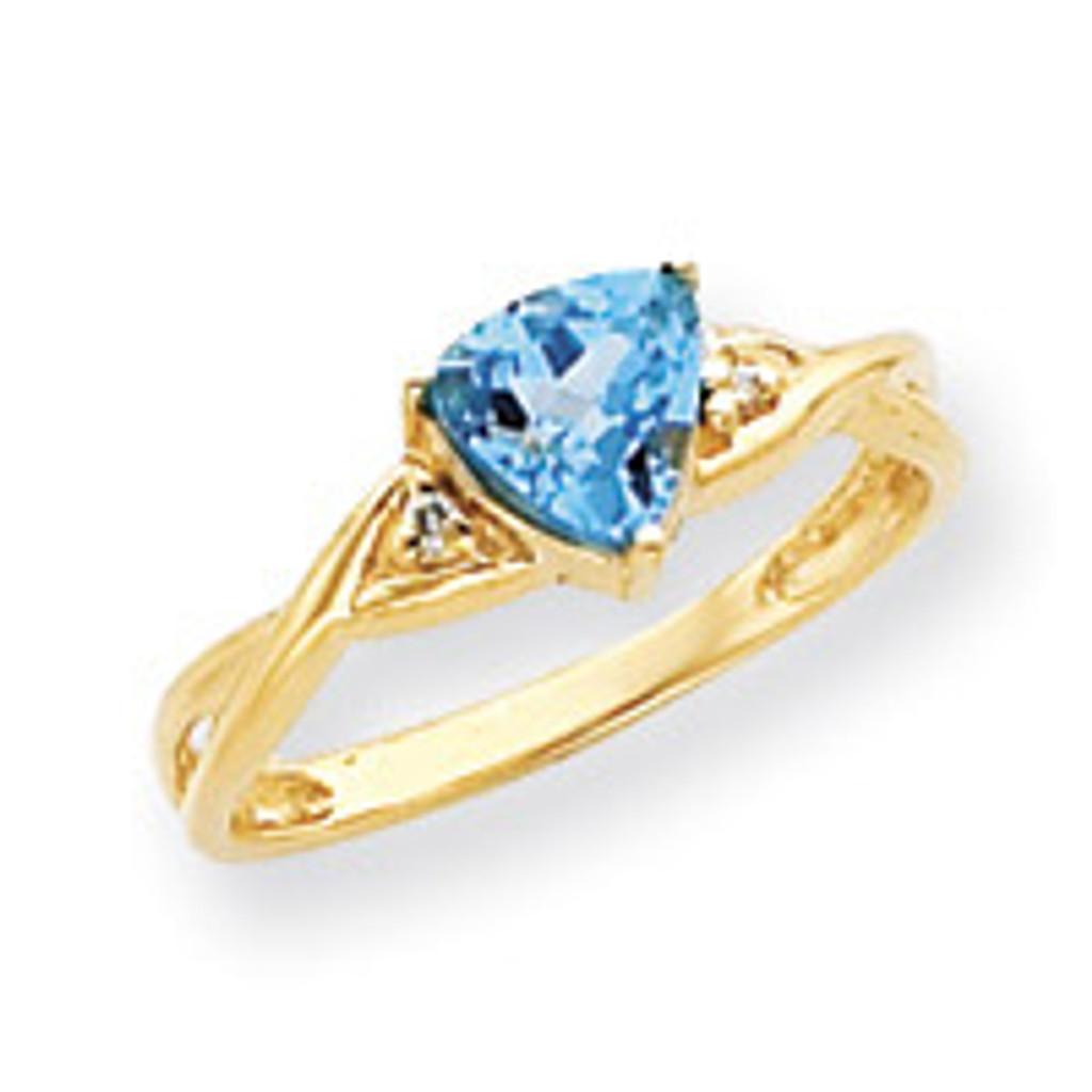 Diamond & Gemstone Ring Mounting 14k Gold Y4732