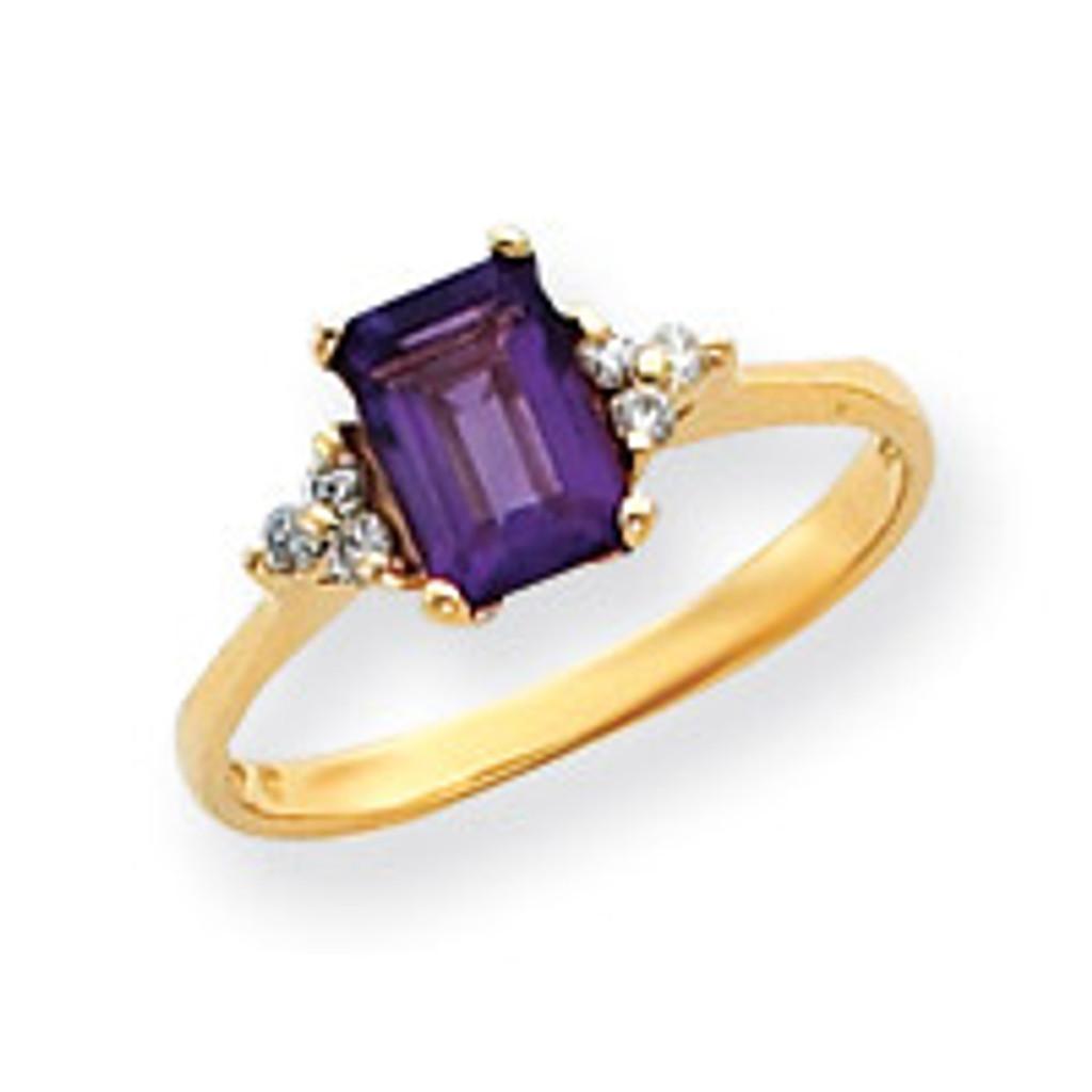 Gemstone Ring Mounting 14k Gold Y4756