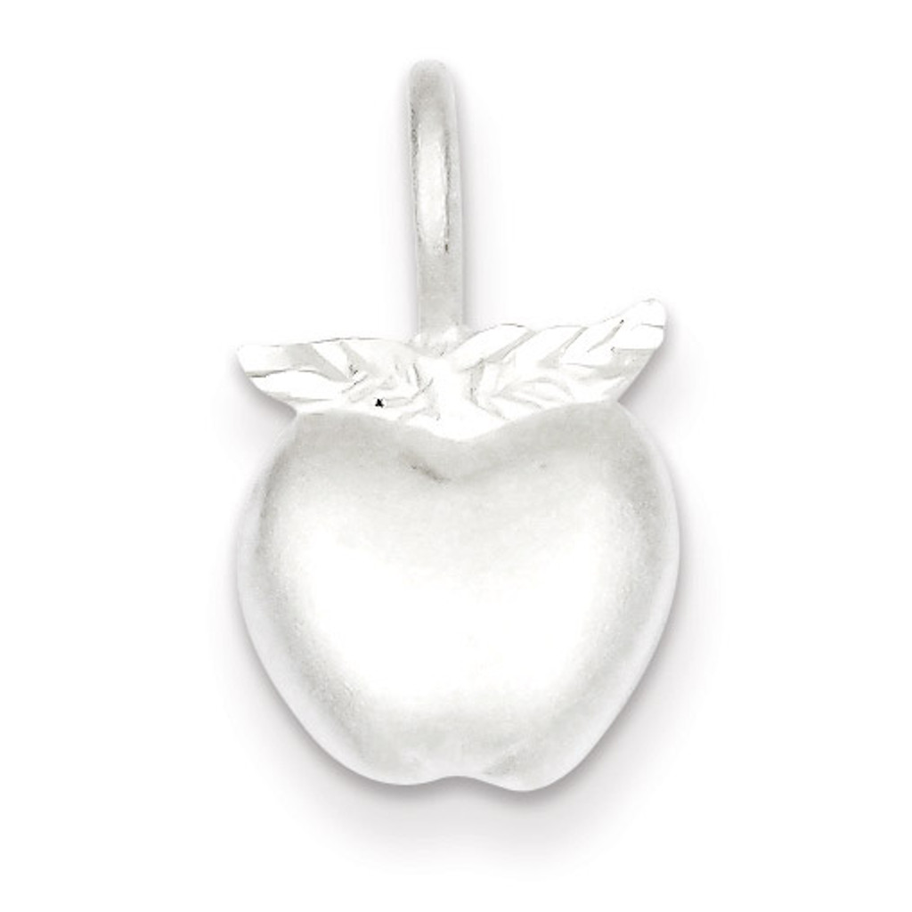 Apple Charm Sterling Silver MPN: QC3114