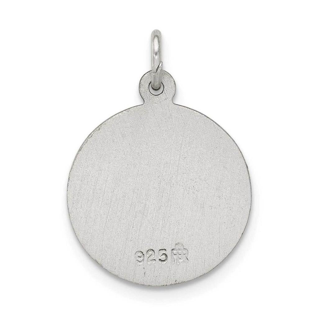 Saint Elizabeth Seton Medal Antiqued Sterling Silver QC5714