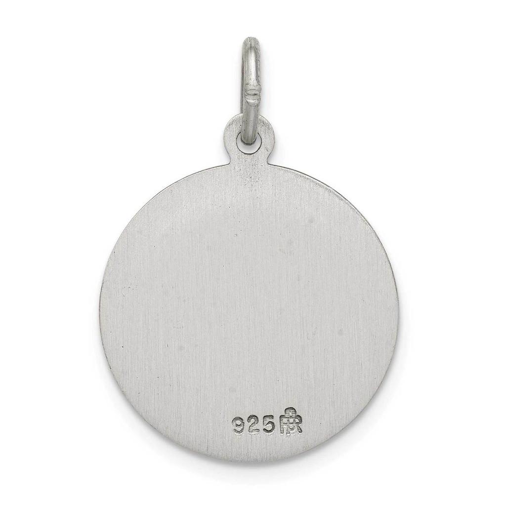 Saint John Neumann Medal Antiqued Sterling Silver QC5745