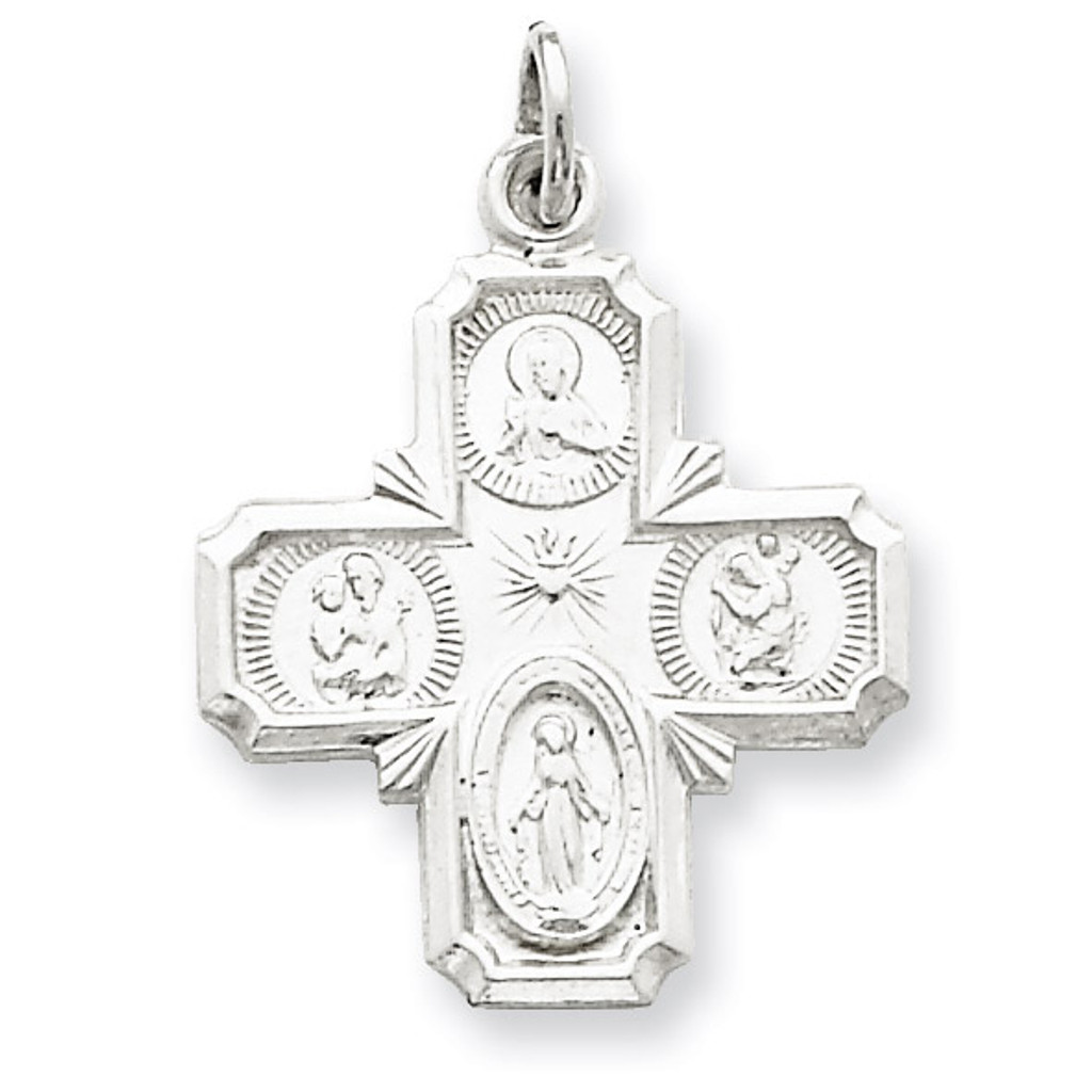 4-way Medal Sterling Silver MPN: QC5804