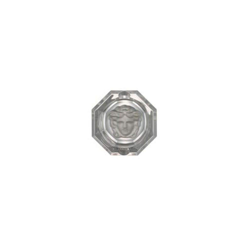 Versace Medusa Lumiere Ashtray Crystal 3 1/4 inch