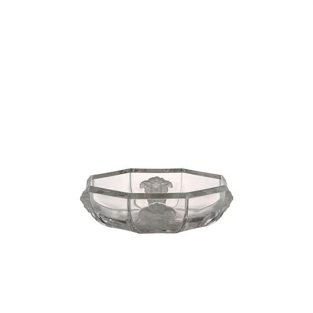 Versace Treasury Candy Dish Crystal 5 1/2 inch