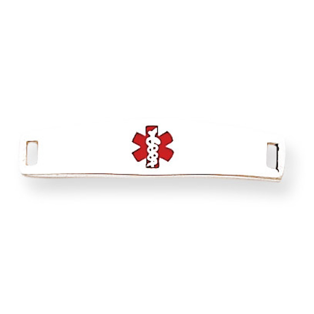 Medical ID Plate Sterling Silver MPN: XSM50