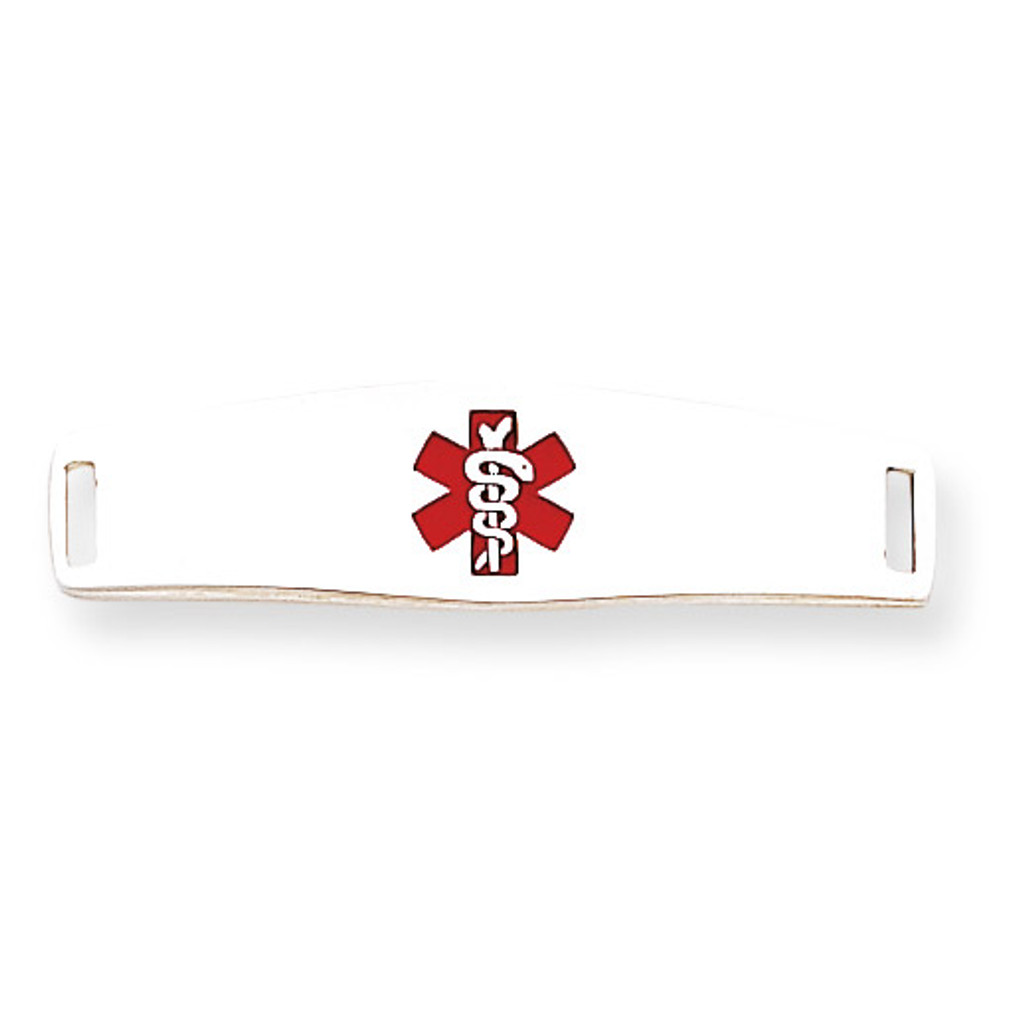 Medical ID Plate Sterling Silver MPN: XSM51