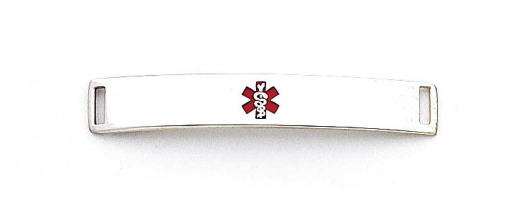 Medical ID Plate Sterling Silver MPN: XSM70