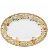 Versace Butterfly Garden Platter 15 3/4 inch