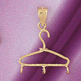 Hanger Holder Pendant Necklace Charm Bracelet in Gold or Silver 4271