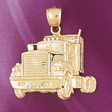 Truck Pendant Necklace Charm Bracelet in Gold or Silver 4361
