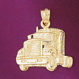 Truck Pendant Necklace Charm Bracelet in Gold or Silver 4362
