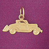 Classic Car Pendant Necklace Charm Bracelet in Gold or Silver 4403