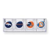 Broncos 4-piece Shot Glass Set GC3524
