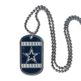 Cowboys 20 inch Dogtag Chain Necklace GC4127