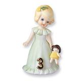 Blonde Age 3 Porcelain Figurine GL630