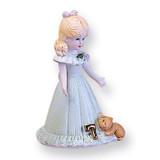 Blonde Age 7 Porcelain Figurine GL634