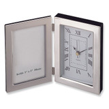 Silver-plated Frame and Clock GL8169