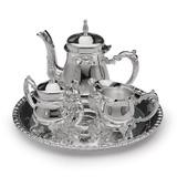 Silver-plated 4-Piece Mini Coffee Set GL9231