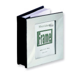 Chrome-plated Picture Frame Cover (Holds 100- 4x6 Photos) Photo Album GL9718
