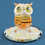Hoot Owl Glass Figurine GM1200