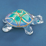 Tiffany the Turtle Glass Figurine GM1209
