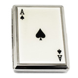 Epoxy Ace Design (Holds 20-100mm) Cigarette Card Case GM12326