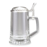13.5 oz. Starbottom Glass Stein with Removeable Pewter Lid GM5383