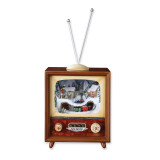 5.5In Lighted Musical TV with Revolving Train GM5870