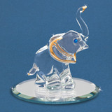 Elephant Glass Figurine GM6708