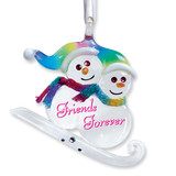 Snow Friends Glass Ornament GM6750