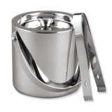 Stainless Steel 1.5 Quart Ice Bucket with Tongs GM6853