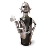 Golfer Metal Wine Caddy GM8709