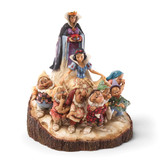 Disney Traditions Wood Carved Snow White Figurine GM9472