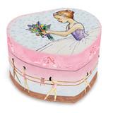 Child's Ballet Heart Musical Jewelry Box GM9789