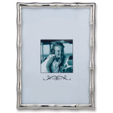 Silver-tone Bamboo 4 x 6 Inch Picture Frame GM9904