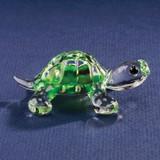 Green Turtle Glass Figurine GP1154